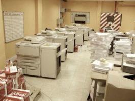 Услуги полиграфического типа в центре столичного копирования