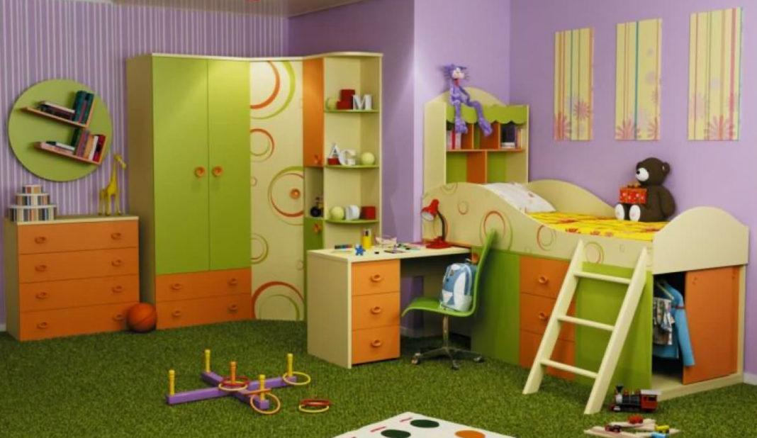 Счастливое детство и красивая детская мебель